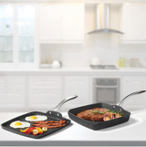 The Rock Grill Pan & Griddle Set