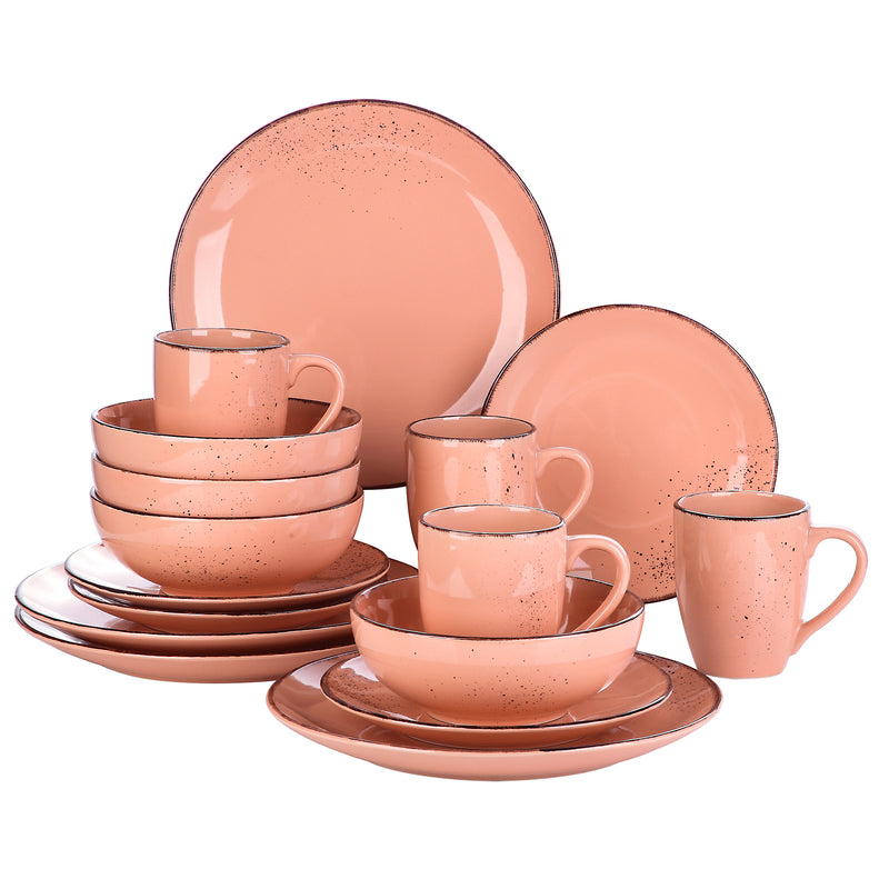 Vancasso Navia-O 16-Piece Ceramic Stoneware Vintage Look Dinner Set - Home To Home Store