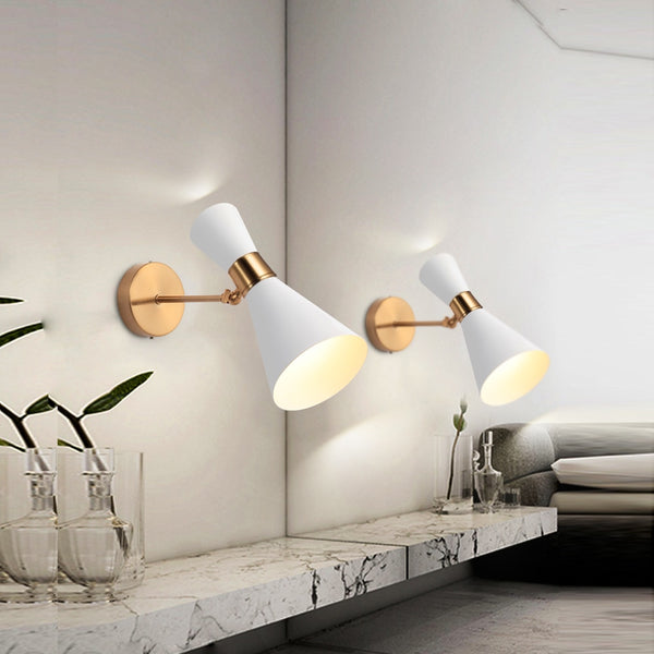 Nordic Wall Lamp Simple Modern Creative LED Lamp Black/White - Home To Home Store