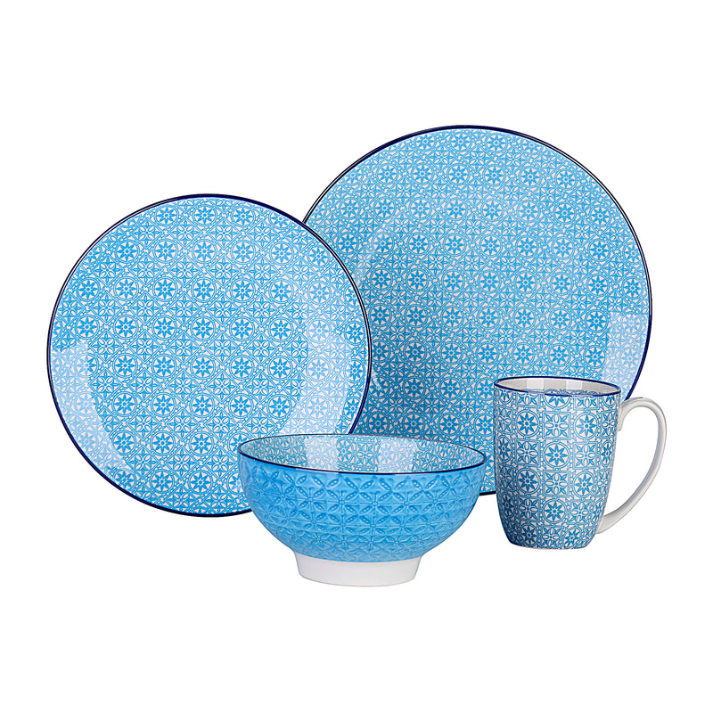 Vancasso Macaron 32-Pieces Porcelain Dinnerware Tableware Set with 8*Dinner Plate,Dessert Plate,Bowl,Mug Set Service for 8Person - Home To Home Store