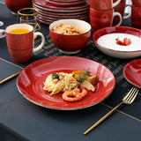Vancasso Bella-R 20-Piece Porcelain Dinnerware Set for 4 Person - Home To Home Store