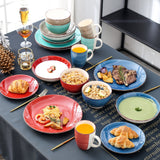 Vancasso Bella-M 20-Piece Porcelain Dinnerware Set with 4*Dinner Plate,Dessert Plate,Soup Plate,Bowl,Mug Set Service for 4Person - Home To Home Store