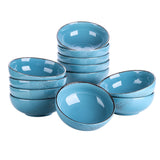 Vancasso Navia Vintage Blue 8/12-Piece 800ML Large Cereal Bowls Set Ceramic Soup/Mixing/Fruit/Noodle/Ramen Bowl Set - Home To Home Store