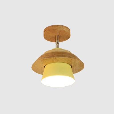 Wooden Ceiling Light rotatable by Chrasy - Home To Home Store