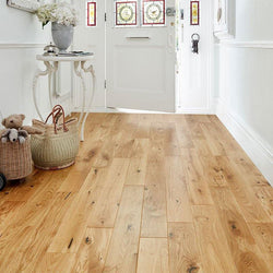 14/3 Lacquered Oak 125mm - Floorstorehome