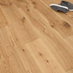 Solid Lacquered Oak 18mm x 150mm - Floorstorehome