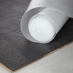 White Foam underlay for laminate & real wood flooring 10m² - Floors 4 You Online