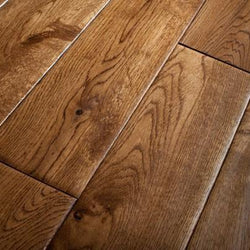 Golden Oak Hand scraped 18mm x 125mm - Floors 4 You Online