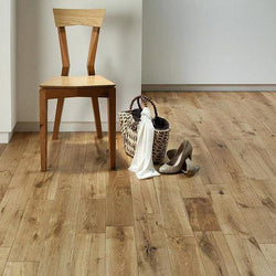 Solid Rustic Oak Flooring 18mm X 90mm Brushed & UV Oiled - Floors 4 You Online