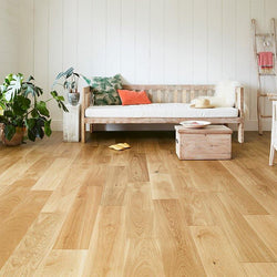 Solid Oak Lacquered 18mm x 125mm - Floorstorehome