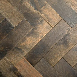 15/4 Herringbone Stained & Oiled Oak 90mm - Floorstorehome