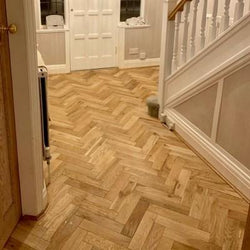 15/4 Herringbone Oak Brushed & Oiled 90mm - Floorstorehome