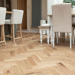 15/4 Herringbone Oak Brushed & Lacquered 80mm - Floorstorehome