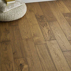 14/3 Golden Brushed & Lacquered Oak 125mm - Floorstorehome