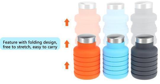 EXPANDABLE ALL PURPOSE WATER BOTTLE