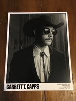 GARRETT T. CAPPS - SIGNED 8X10 PHOTO