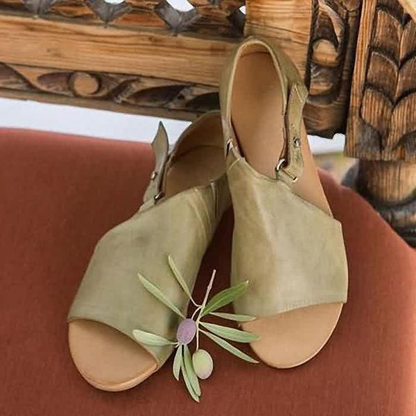 Open Toe Closed Back Sandals