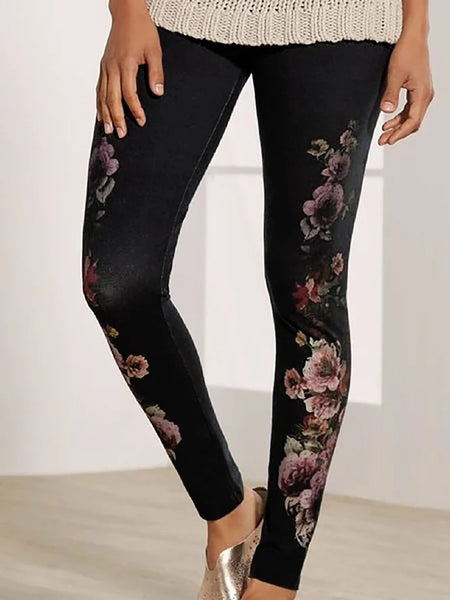 Printed Casual Pants