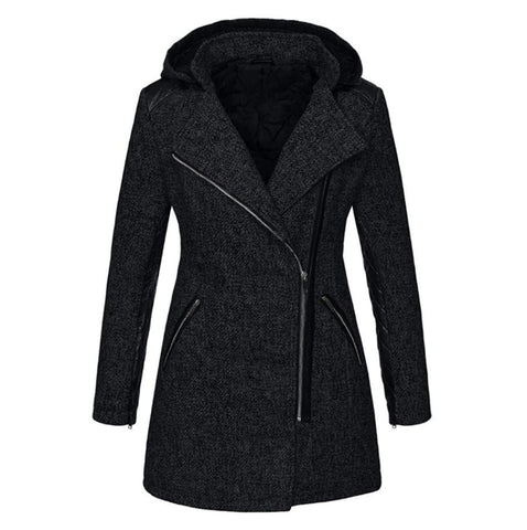 Women's Warm Hooded Coat