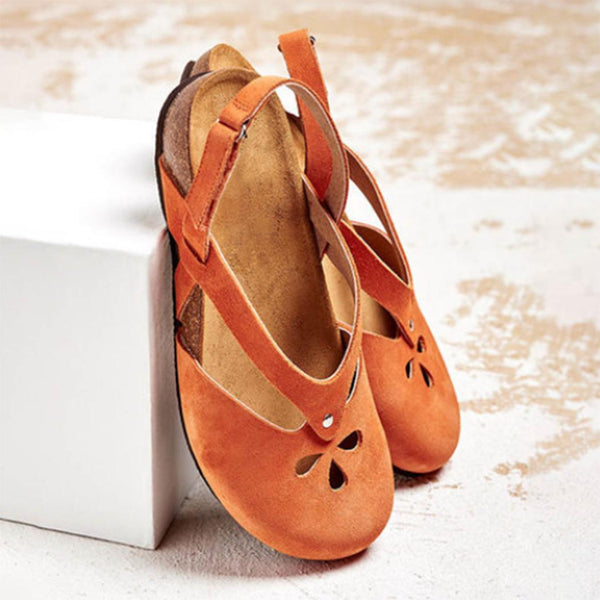 Women Summer Hollow Out Non-slip Breathable Casual Sandals