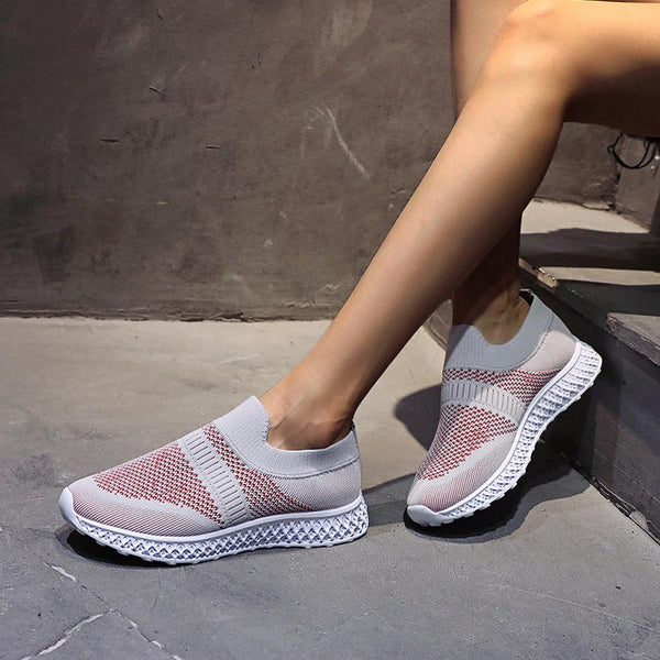 Women Patchwork Non-slip Breathable Casual Sports Shoes
