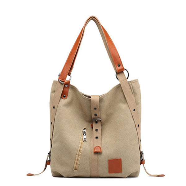 Women Fashion Canvas Multifunctional Large Capacity Shoulder Bags