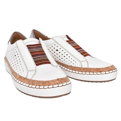 Women Fashion Patchwork Breathable Slip-on Casual Shoes