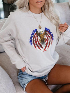 Awesome Eagle 4th of July Sweatshirt