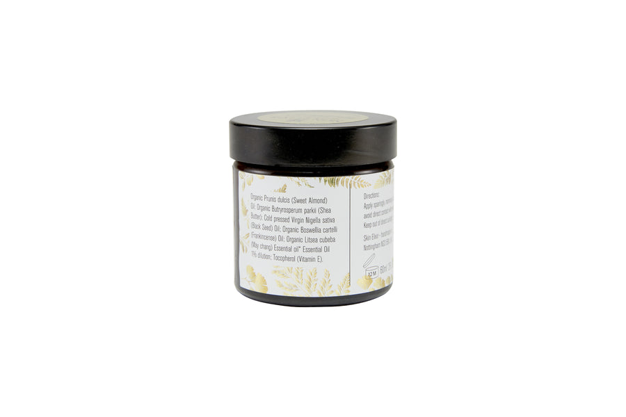 Organic Frankincense & May Chang Moisturiser 60ml