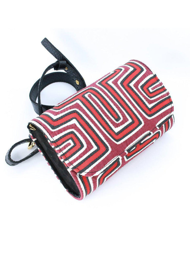 BAG - Koala Beltbag-Nina Peñuela-Red - Black & White Print-Shirlanka-Wynwood-Miami