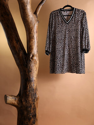 Load image into Gallery viewer, DRESS - Leopard short - Size|S-Iceberg-Default-Shirlanka-Wynwood-Miami