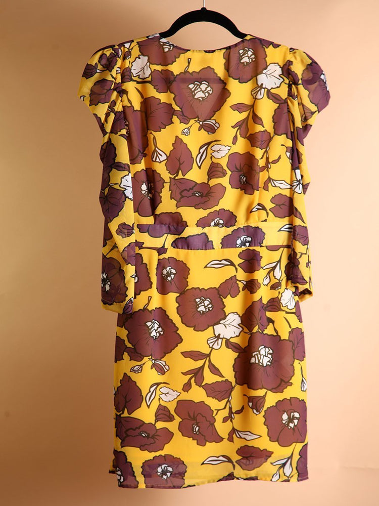 Load image into Gallery viewer, DRESS - Pastorini flowered - Size S|M-Almagores-Default-Shirlanka-Wynwood-Miami