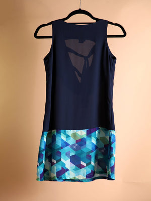 Load image into Gallery viewer, DRESS - Purpora Geometric Print - Size|6-Bendita Seas-Default-Shirlanka-Wynwood-Miami