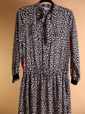 DRESS - Leopard Long - Size|M-Iceberg-Default-Shirlanka-Wynwood-Miami