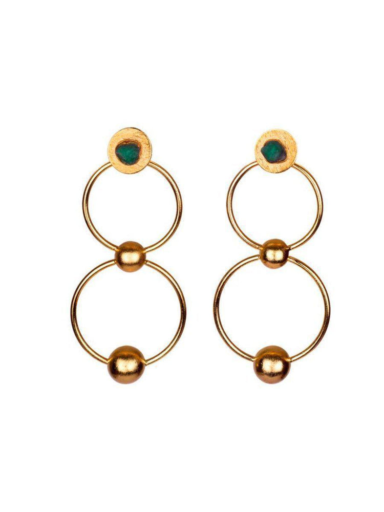 EARRINGS - Mila 25k Gold-TAO-Default-Shirlanka-Wynwood-Miami