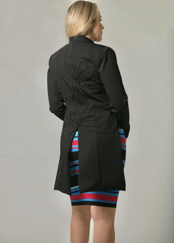 JACKET - Nancy Black - Size L-Suki Cohen-Default-Shirlanka-Wynwood-Miami
