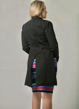 Load image into Gallery viewer, JACKET - Nancy Black - Size L-Suki Cohen-Default-Shirlanka-Wynwood-Miami