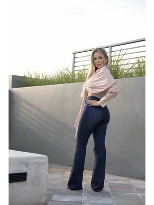JEAN - High Rise Flared Jeans 8-PADOVA-Default-Shirlanka-Wynwood-Miami