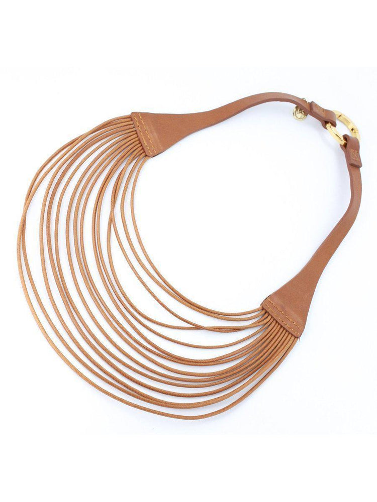 NECKLACE - Lauren Leather-Velez-Default-Shirlanka-Wynwood-Miami
