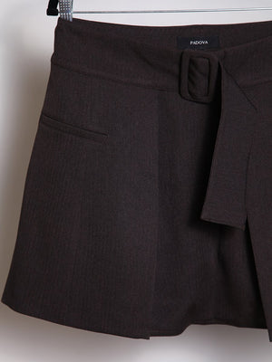 Load image into Gallery viewer, BELT - OVERSKIRT Brown short tailored - Size 10-PADOVA-Default-Shirlanka-Wynwood-Miami