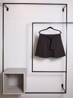 BELT - OVERSKIRT Brown short tailored - Size 10-PADOVA-Default-Shirlanka-Wynwood-Miami