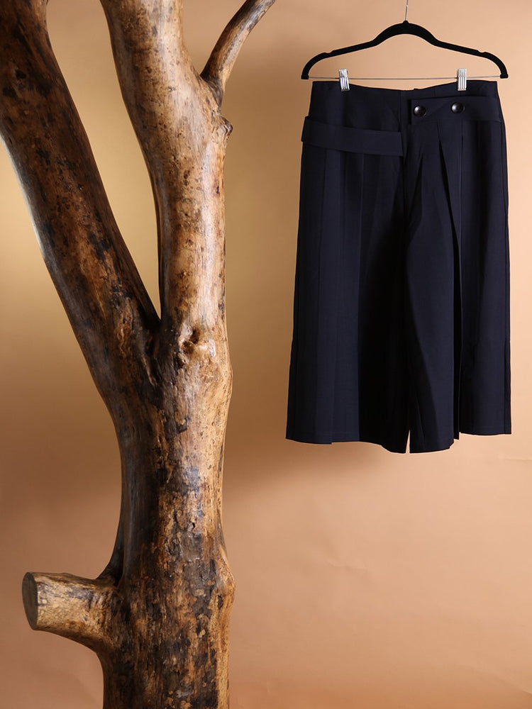 PANT - Kacie Navy High Rise-Emerging Designers-L-Shirlanka-Wynwood-Miami