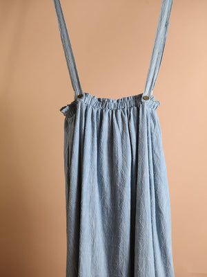 Load image into Gallery viewer, SKIRT - Melissa Denim Overall Maxi-Storia-Shirlanka-Wynwood-Miami
