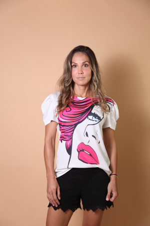 Load image into Gallery viewer, T-SHIRT - Femme Fatale Size|L-Nylon Apparel-Default-Shirlanka-Wynwood-Miami