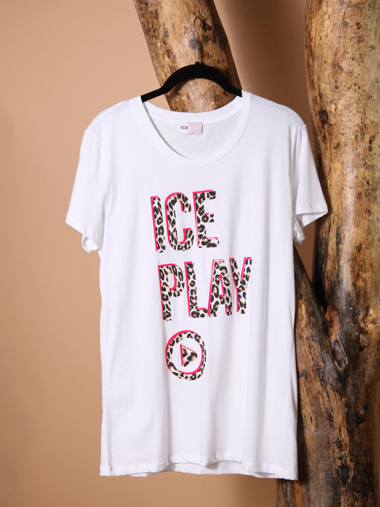 Load image into Gallery viewer, T-SHIRT - Ice Play-Iceberg-White-S-Shirlanka-Wynwood-Miami