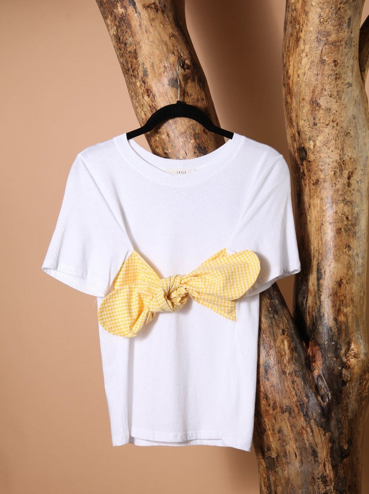 Load image into Gallery viewer, T-SHIRT - Knot Mellow Yellow-Emerging Designers-M-Shirlanka-Wynwood-Miami