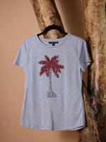 T-SHIRT - Polly Palm Tree - Size|S-Emerging Designers-Default-Shirlanka-Wynwood-Miami