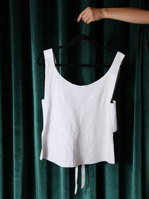Load image into Gallery viewer, T-SHIRT - Tsi Tao White Leather - Size M-Andrea Landa-Default-Shirlanka-Wynwood-Miami