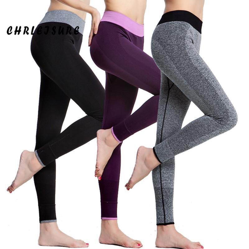 Comfortable High Waist Super Stretch Workout Leggings - Nu String