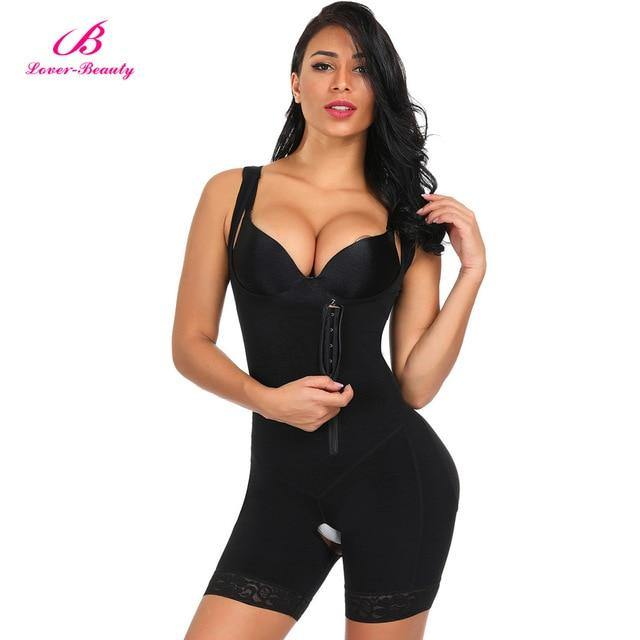 Full Body Shaper with Zipper - Nu String